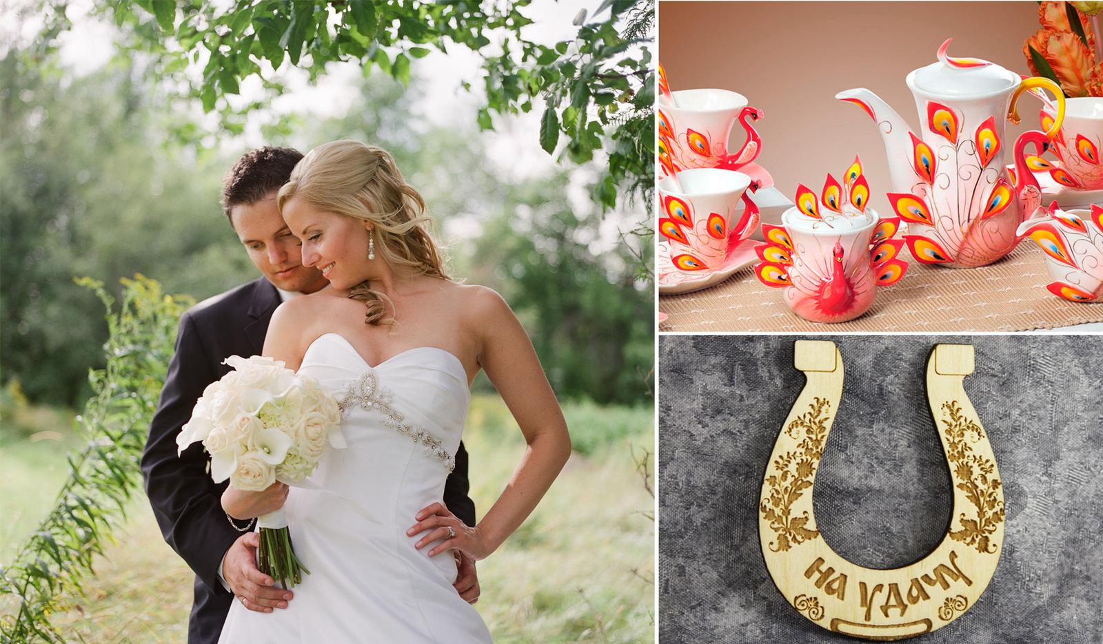 Красивые и недорогие подарки на свадьбу 1