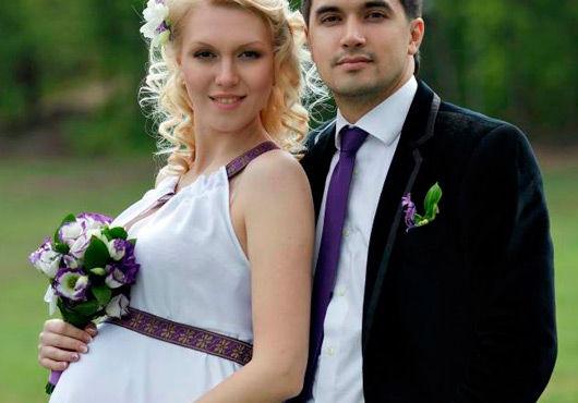 Что подарить на свадьбу беременной невесте